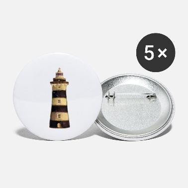 Sea Anchor sea captain lighthouse beach lake gift - Small Buttons