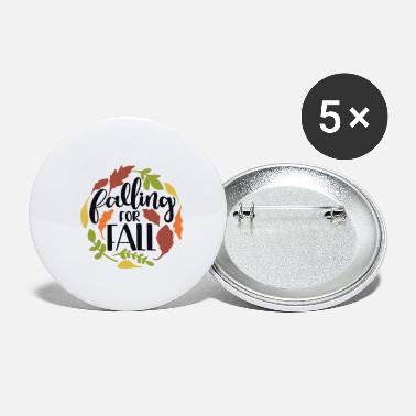 Fall Falling for fall - Small Buttons