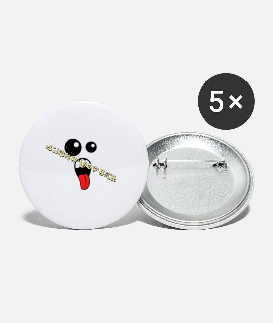 Post Buttons & Pins - Whaa Collect - Small Buttons white