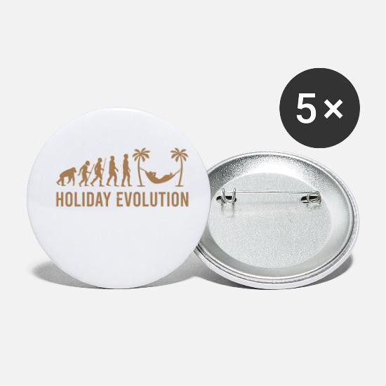 Vacation Buttons - Holiday Evolution T-Shirt - Small Buttons white