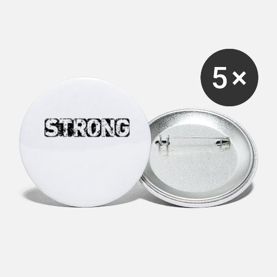 Steel Buttons - STRONG - Small Buttons white