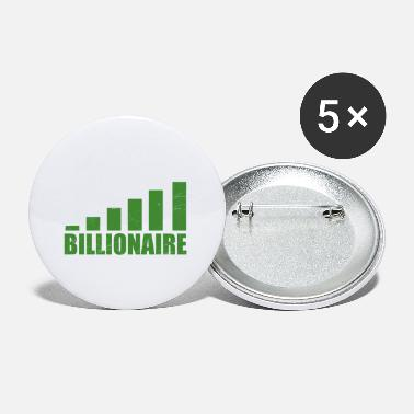 Rich Mililionaire Billionaire In The Making Gift Idea - Small Buttons