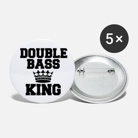 Violin Buttons - Double Bass - Small Buttons white