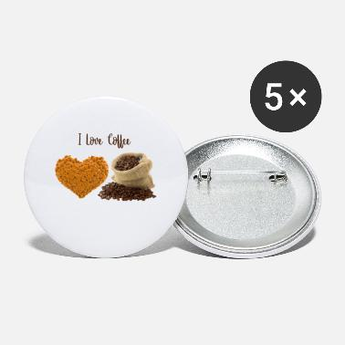 Love Coffee - Small Buttons