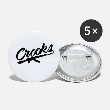 Crook Crooks - Small Buttons