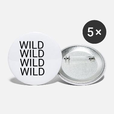 Wild Wild - Small Buttons