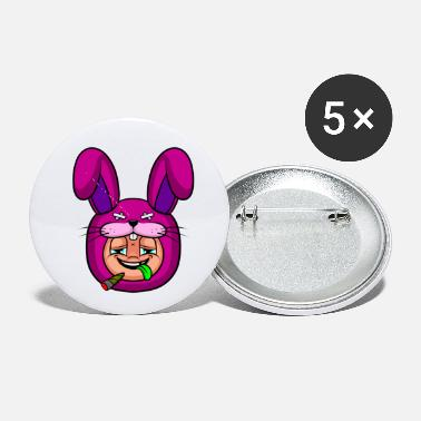 Funny Rabbit Funny rabbit - Small Buttons