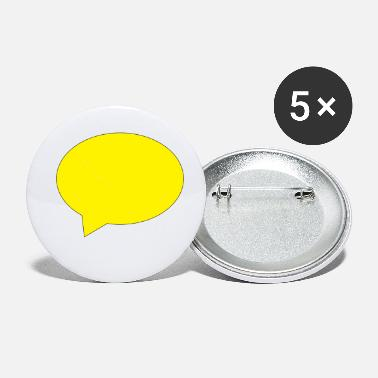 Speech Balloon balloon speech bubble speech balloon - Small Buttons