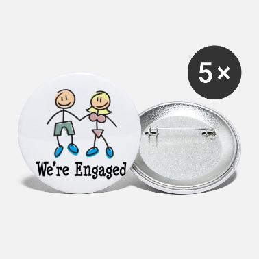 Engagement Engagement We're Engaged - Small Buttons