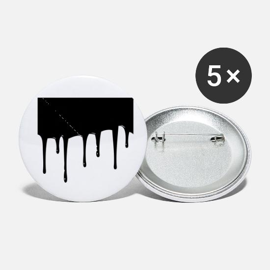 Drip Buttons - drip - Small Buttons white
