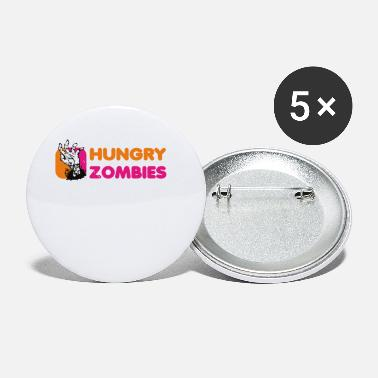 Zombies Hungry Zombies - Small Buttons