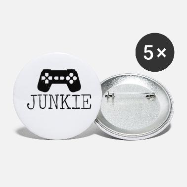 Junkie Junkie Gamer - Small Buttons