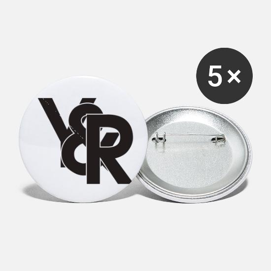 Birthday Buttons - Young and Reckless - Small Buttons white