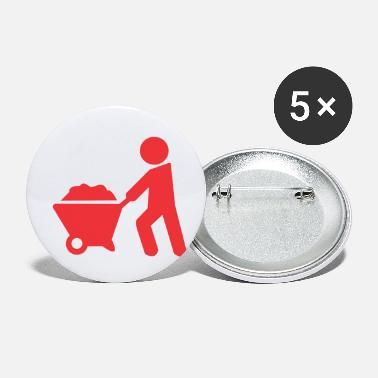 Sand carrying sand - Small Buttons