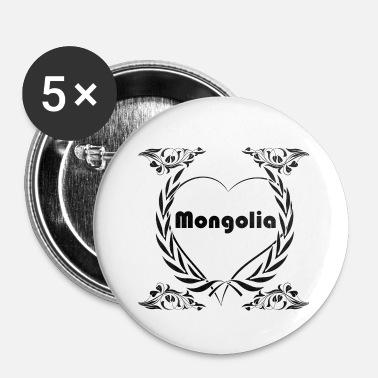 shop mongolia buttons online spreadshirt Mongolian Curly Fur mongolia i love mongolia buttons small 1 39