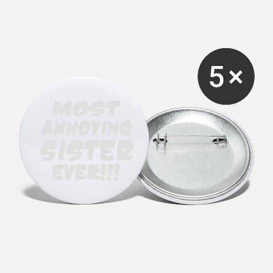 Movie Buttons - Present For Ladies - Small Buttons white