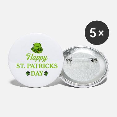 Happy St Patricks Day - Small Buttons