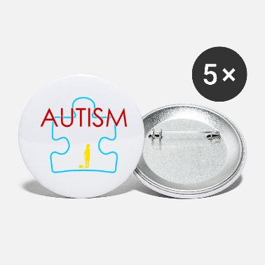 Autism Awareness Autism Awareness April Design Cute Gift Idea - Small Buttons