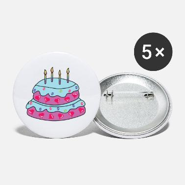 Cake Baby Birthday Cake - Small Buttons
