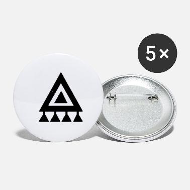 Indie Indie symbol black - Small Buttons
