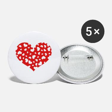 The Hundreds Hundreds Heart - Small Buttons