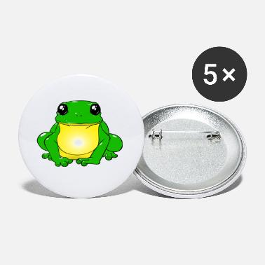With Frogs Frog - Small Buttons