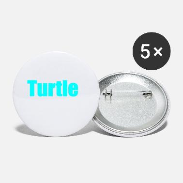 Turtle Doves turtle - Small Buttons