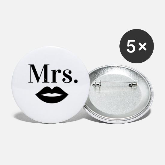 Mrs Buttons - Mrs. - Small Buttons white