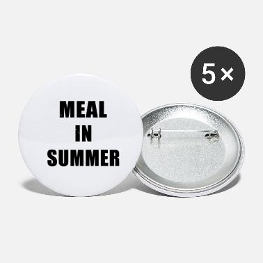 Meal Meal In Summer - Small Buttons