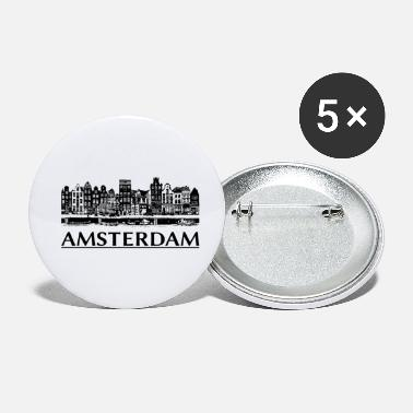 Amsterdam amsterdam - Small Buttons