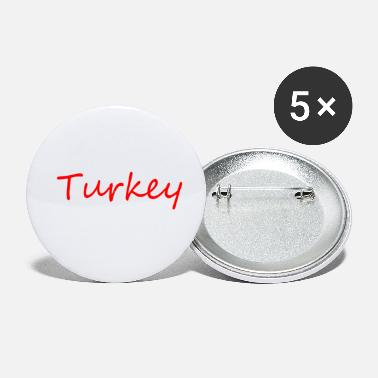 Turkey turkey - Small Buttons