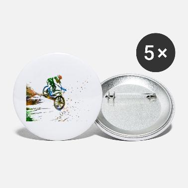 Mountain Bike Mountain biking, mountain bike, sport - Small Buttons