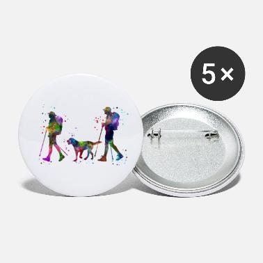 Couples Traveling as a couple, couple, couple traveling - Small Buttons