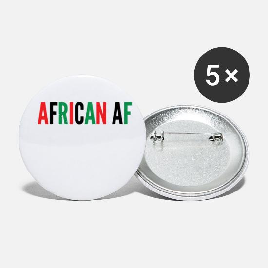 Africa Buttons - African Af - Small Buttons white