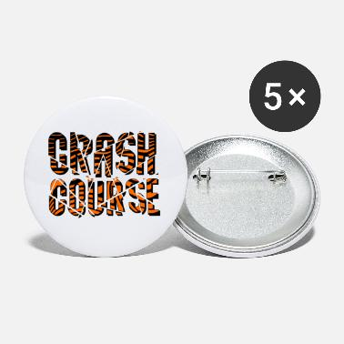Driving School Crash Course | Cool and Stlyish Gift Idea Shirt - Small Buttons