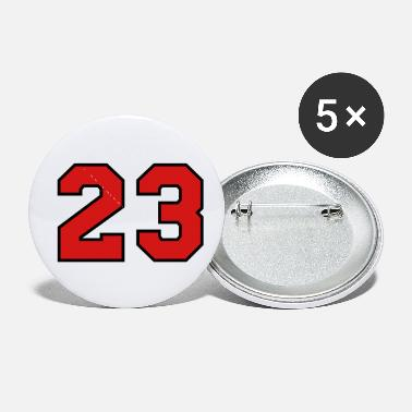 Sports Jersey - Number 23 - Small Buttons