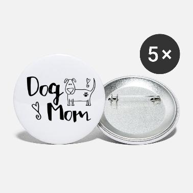 Dog Dog Mom With A Pup - Small Buttons