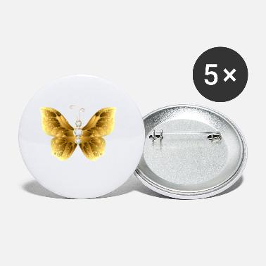 Jevels Gold jewelry cool jevel butterfly insect vector - Small Buttons