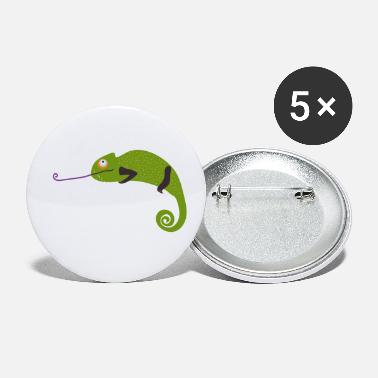 Cool Trendy Cool chameleon - trendy - Small Buttons