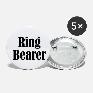 Wedding Day Ring Bearer, Wedding Ring, Wedding Day - Small Buttons