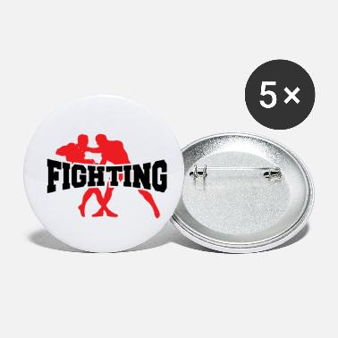 Fighting FIGHTING - Small Buttons