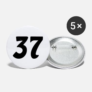 37 Number 37 number - Small Buttons