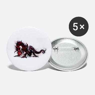 Nerdsbyleo dragon - Small Buttons