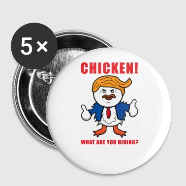 TAX MARCH CHICKEN - Small Buttons