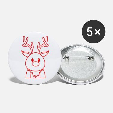 Adorable Reindeer Adorable Reindeer - Small Buttons