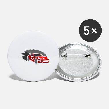 Streaker Car Sports Car Streaker Speed Tuning Gift - Small Buttons