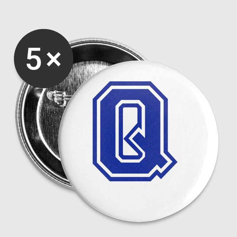 Letter Q - Small Buttons