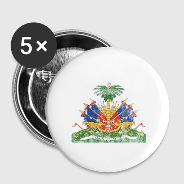 Haitian Coat of Arms Haiti Symbol - Small Buttons