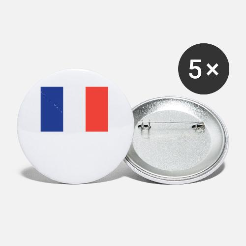 0314f4cb744 Flag of France Cool French Flag Small Buttons