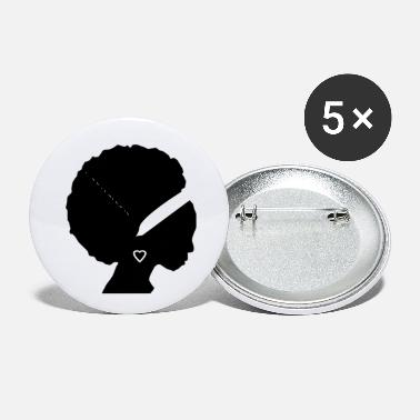 Afro afro - Small Buttons